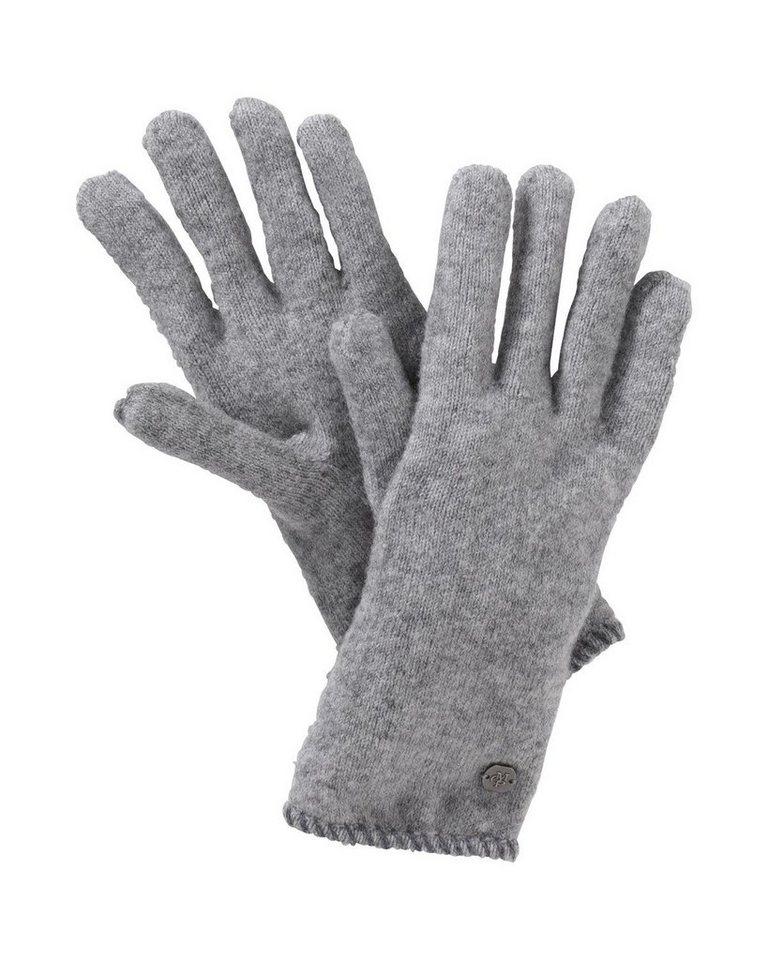 Marc O'Polo Handschuhe in Grau-Meliert