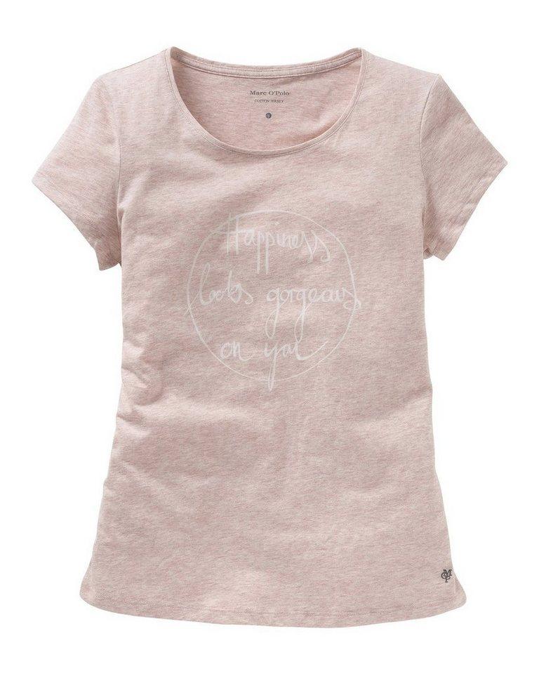 Marc O'Polo Body & Beach Tshirt in Rosa