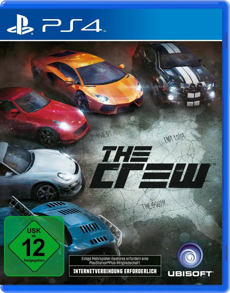 UBISOFT Software Pyramide - Playstation 4 Spiel »The Crew«