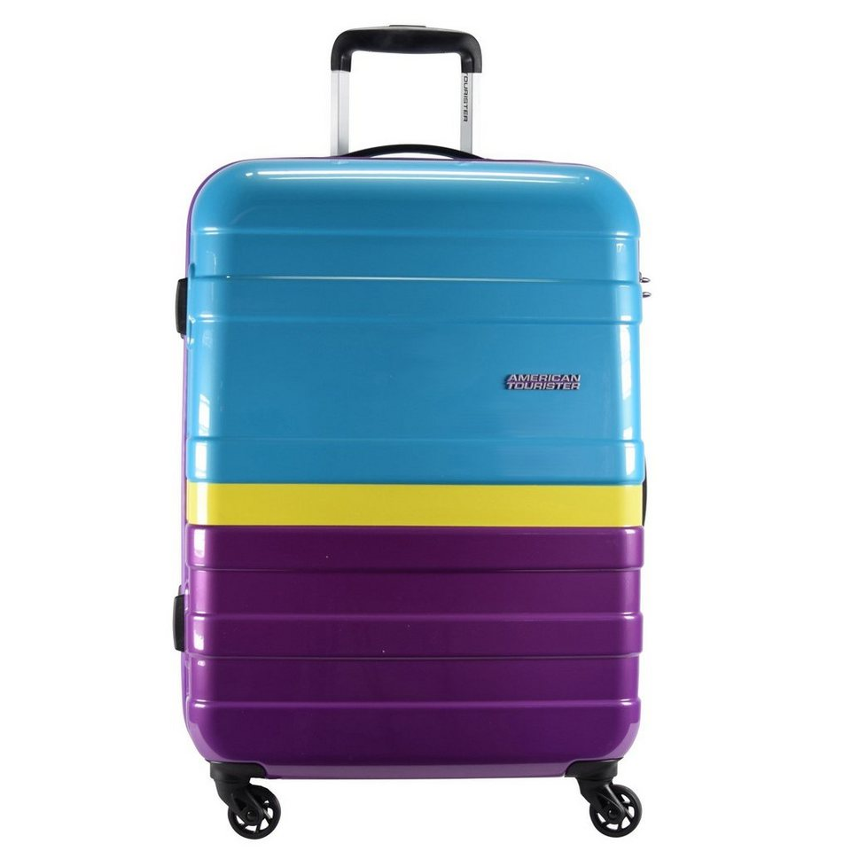American Tourister Pasadena Spinner 4-Rollen Trolley 76 cm in sunset paradise