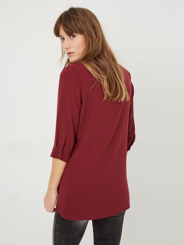 Vero Moda Langes Hemd in Zinfandel