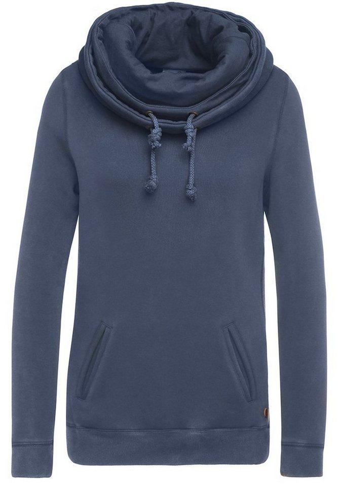 khujo Sweater »CAYENNE« in dunkelblau