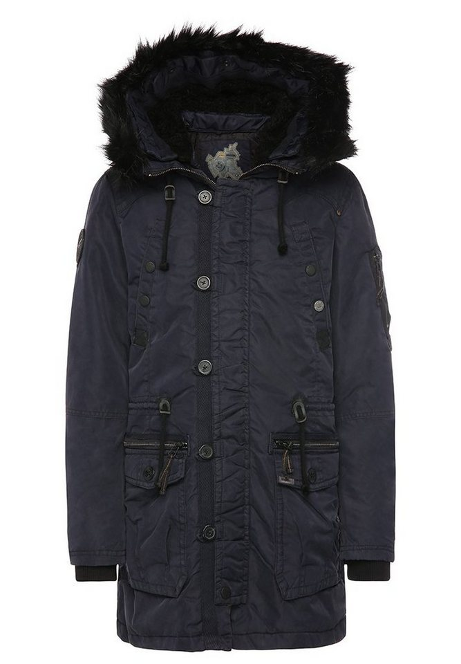 khujo Parka »VINCE« in navy