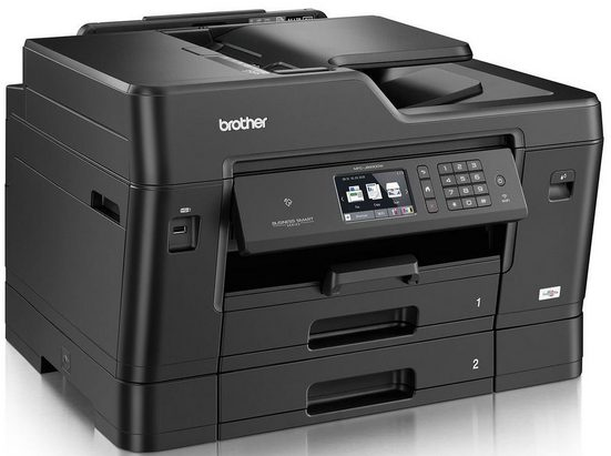Brother Tintenstrahl-Multifunktionsdrucker »MFC-J6930DW DIN A3 4in1«
