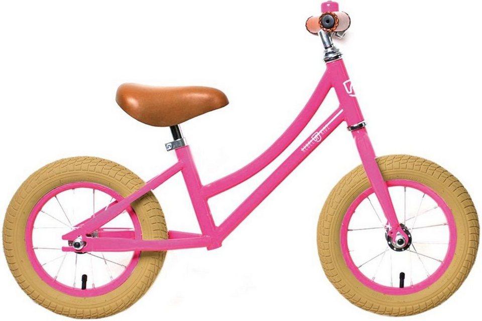 "Rebel Kidz Kinderfahrzeug »Air Classic Lernlaufrad Unisex 12,5""« in pink"