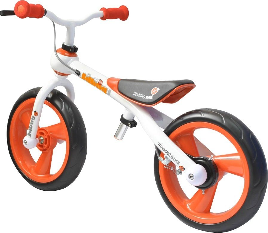 JDBug Kinderfahrzeug »Training Bike Eva Tire mit Bremse« in orange