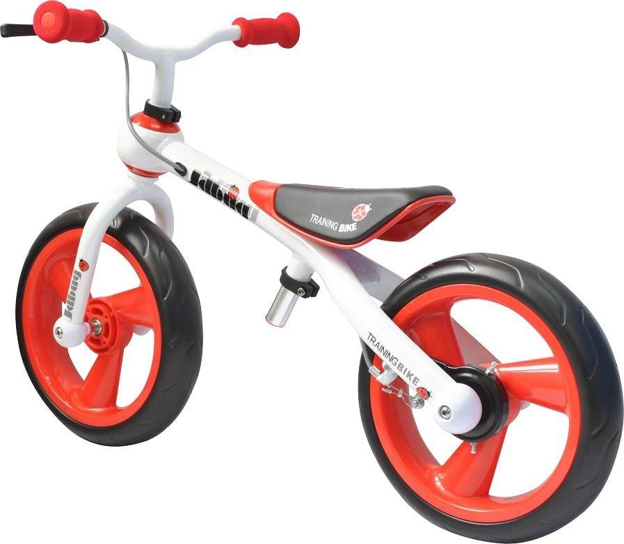 JDBug Kinderfahrzeug »Training Bike Eva Tire mit Bremse« in rot