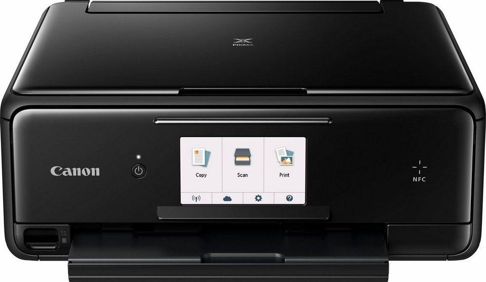 Canon PIXMA TS805 Multifunktionsdrucker in schwarz