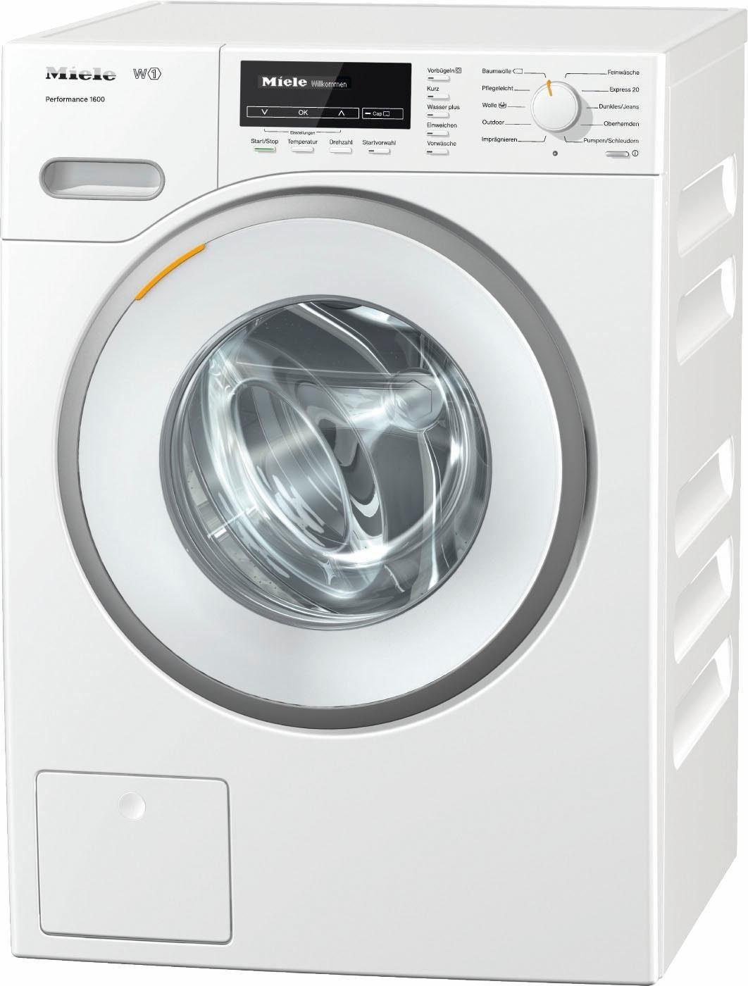 MIELE Waschmaschine W1 Performance 1600, A+++, 8 kg, 1600 U/Min