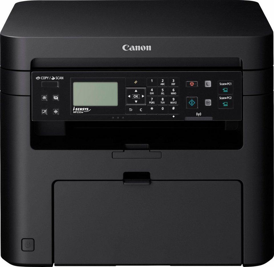 Canon i-Sensys MF232w Multifunktionsdrucker in schwarz