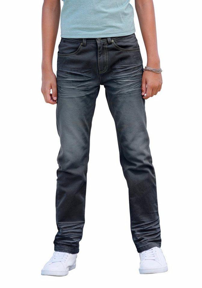 Arizona Regular-fit-Jeans mit geradem Bein in dark-blue