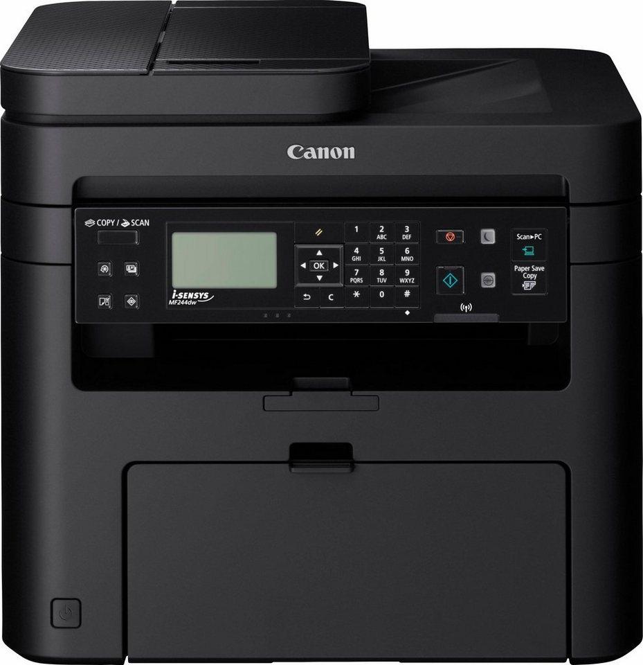Canon i-Sensys MF244dw Multifunktionsdrucker in schwarz