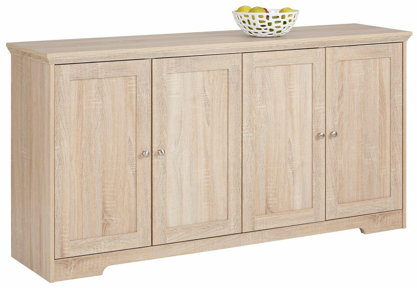 sonoma eiche sideboard weiss hochglanz preisvergleiche erfahrungsberichte und kauf bei nextag. Black Bedroom Furniture Sets. Home Design Ideas