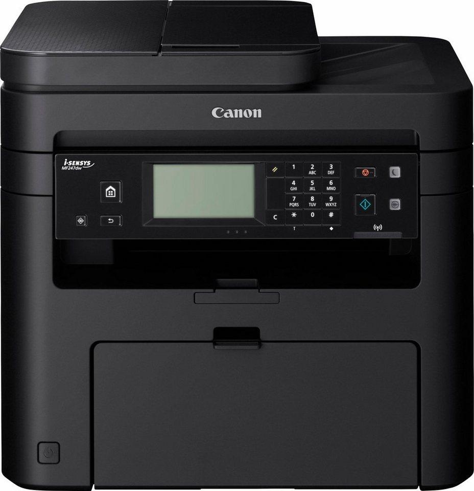 Canon i-Sensys MF247dw Multifunktionsdrucker in schwarz