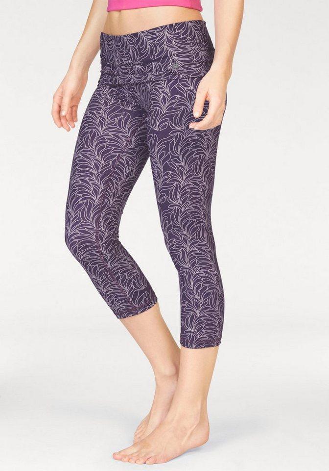 Ocean Sportswear Yogaleggings mit umschlagbarem Bündchen in lila