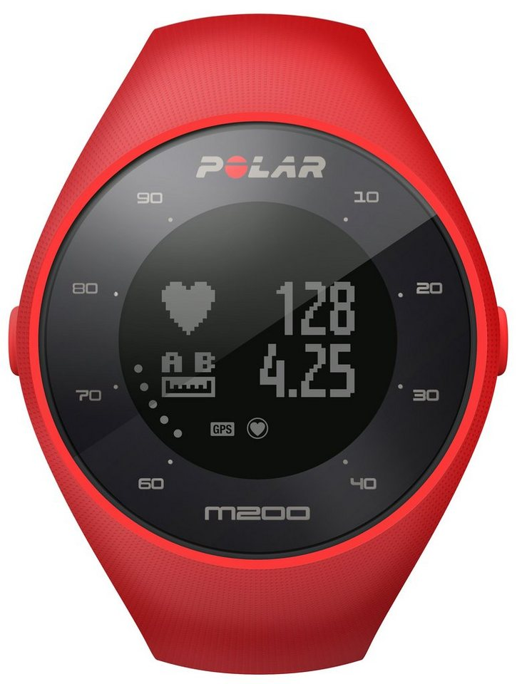 Polar GPS Laufuhr, »M200« in rot