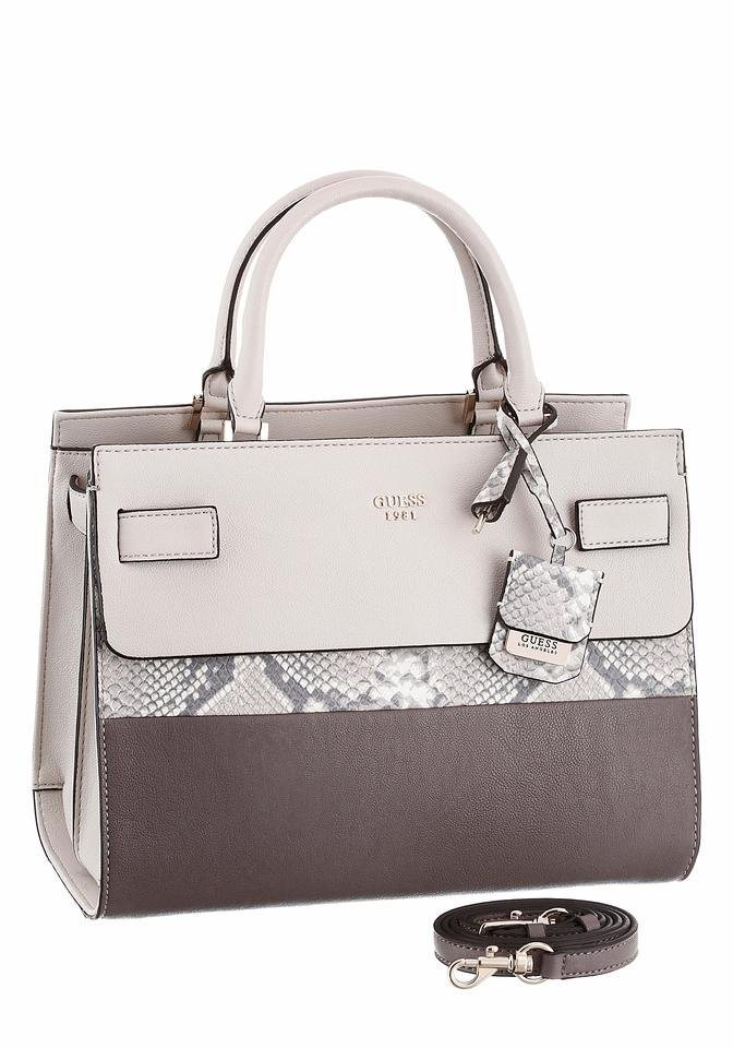 Guess Henkeltasche »CATE« in taupe-nude