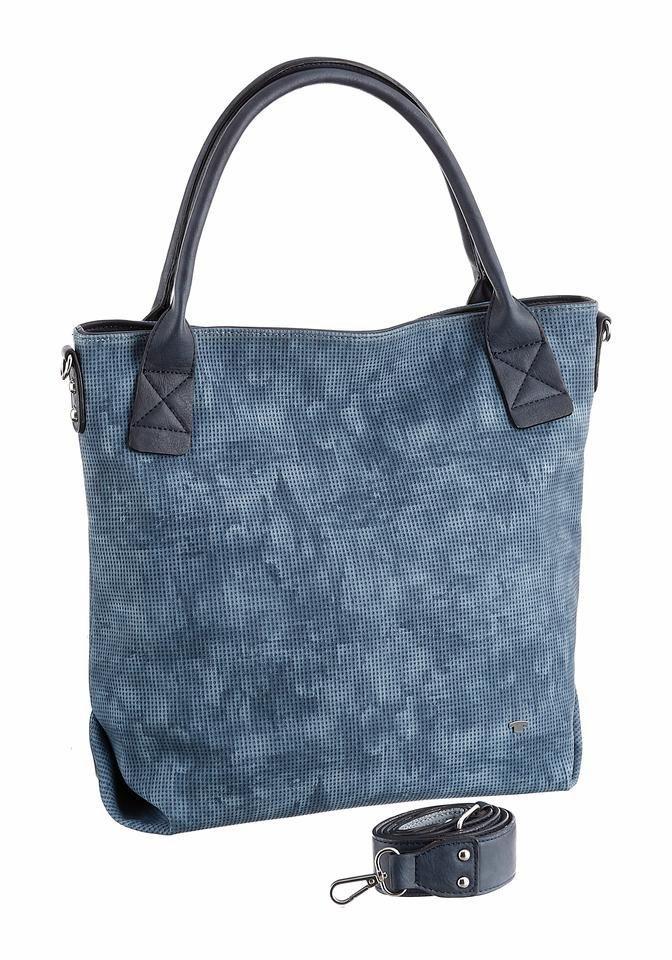 Tom Tailor Shopper »JESSY« in blau