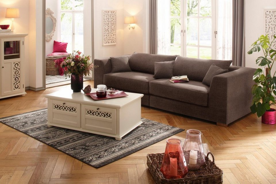 Home affaire Big-Sofa »Elli« in mittelbraun