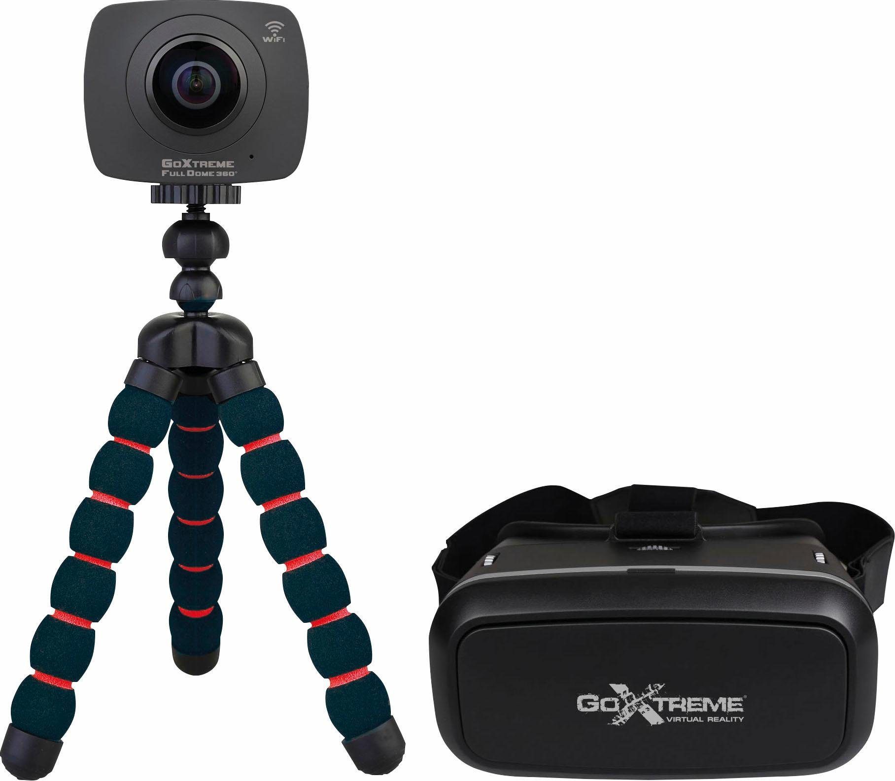 Full Dome 360° VR Headset Bundle Panorama Kamera, 4 Megapixel, 2,4 cm (1 Zoll) Display