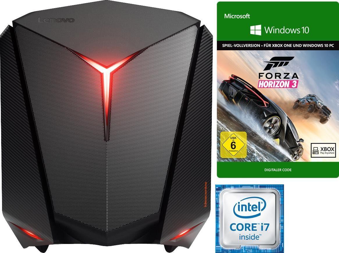 Lenovo ideacentre Y710 Cube-15ISH Gaming-PC, Intel® Core™ i7, 16384 MB DDR4, 2256 GB Speicher