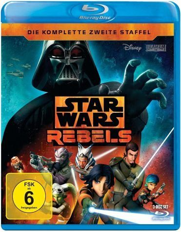 Blu-ray »Star Wars Rebels - Die komplette zweite...«