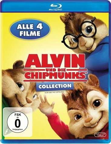 Blu-ray »Alvin und die Chipmunks Collection (4 Discs)«