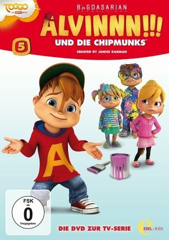 DVD »Alvinnn!!! und die Chipmunks - Vol. 5«