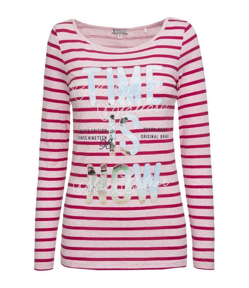 SOCCX Rundhalsshirt in pink