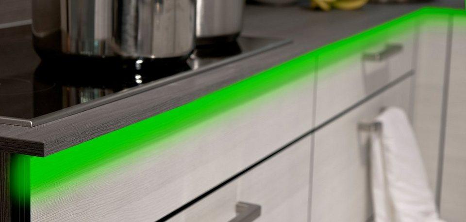 Nino Leuchten LED Flexband mit RGB-Farbwechsler in weiß