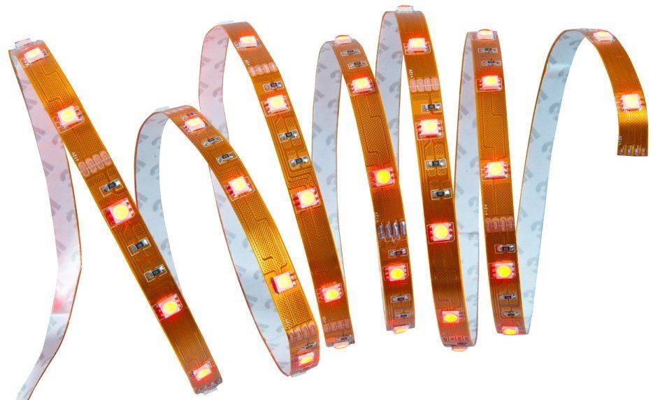 Nino Leuchten Power LED Flexband mit RGB-Farbwechsler