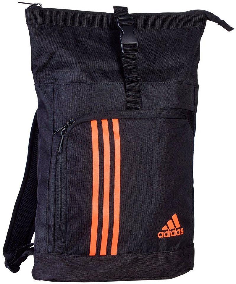adidas Performance Seesack in schwarz-orange