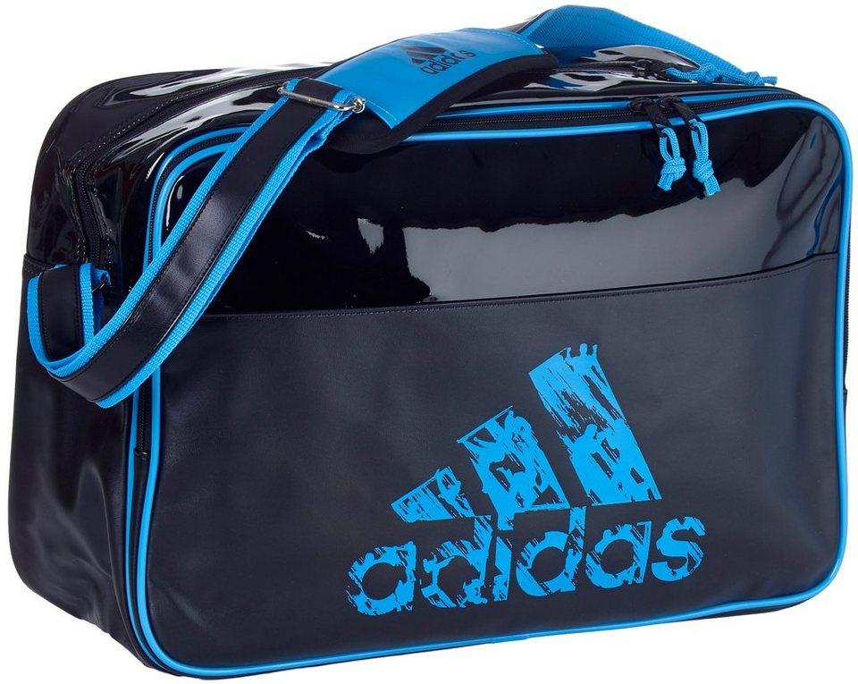 adidas Performance Umhängetasche in schwarz-blau