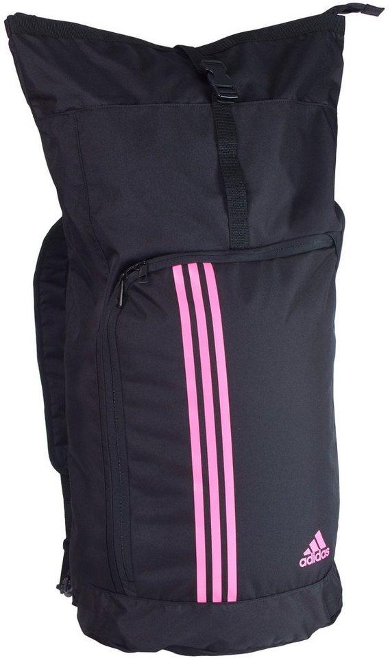adidas Performance Seesack in schwarz-pink