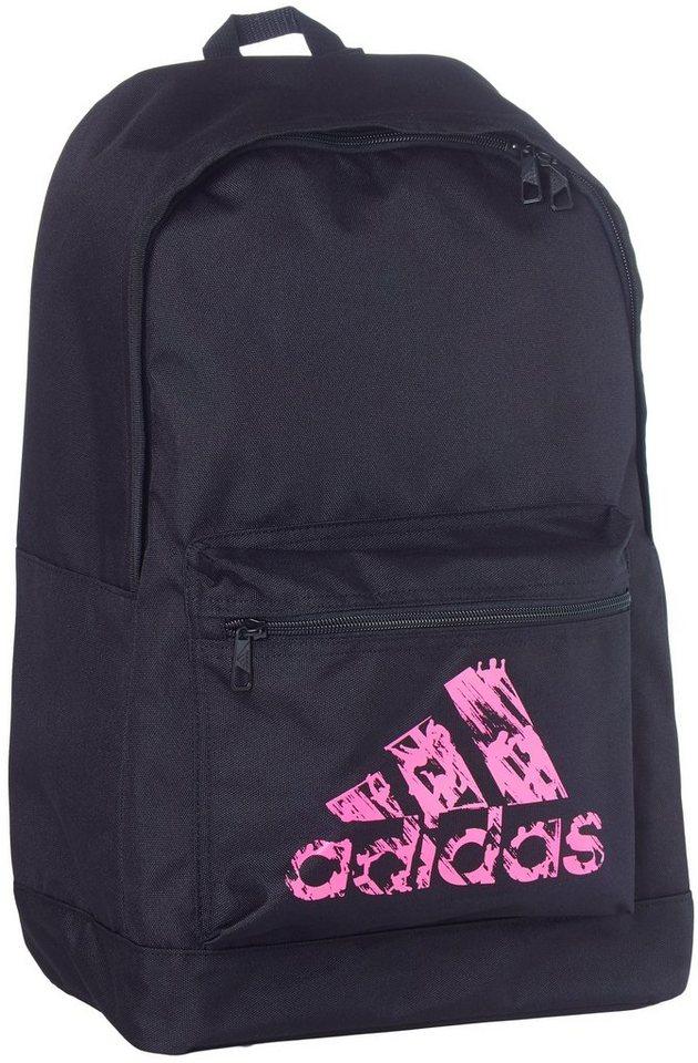 adidas Performance Rucksack in schwarz-pink