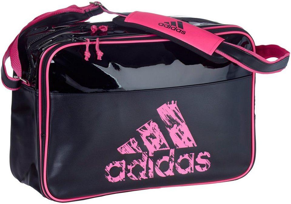 adidas Performance Freizeittasche in schwarz-pink