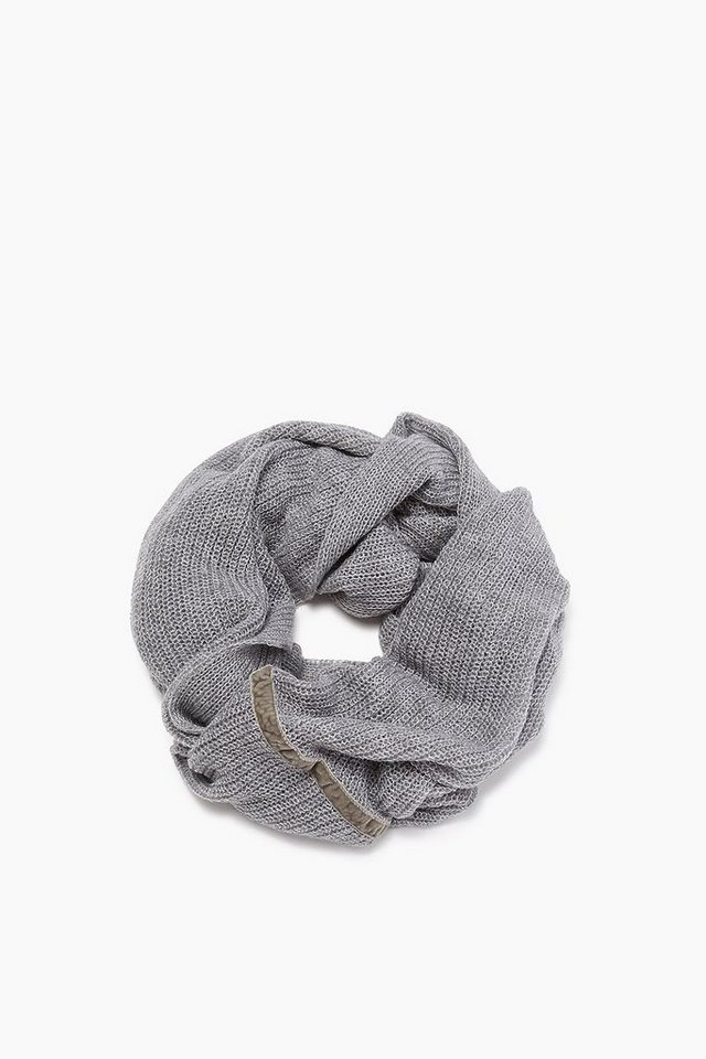 ESPRIT CASUAL Loop-Schal aus leichtem, lockerem Strick in LIGHT GREY