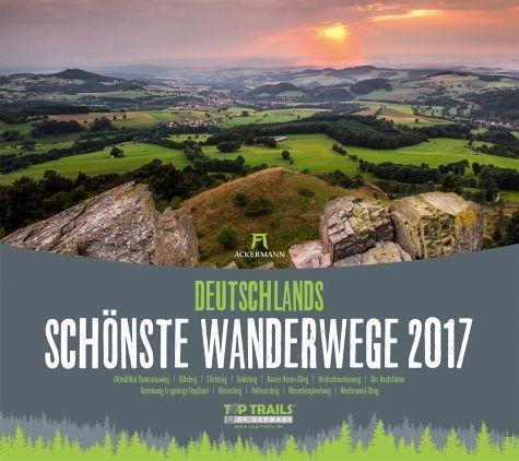 Kalender »Deutschlands schönste Wanderwege 2017«