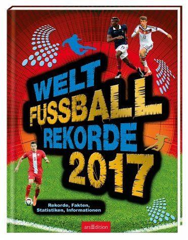 Gebundenes Buch »Welt-Fußball-Rekorde 2017«