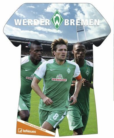 Kalender »Werder Bremen Trikotkalender 2017«