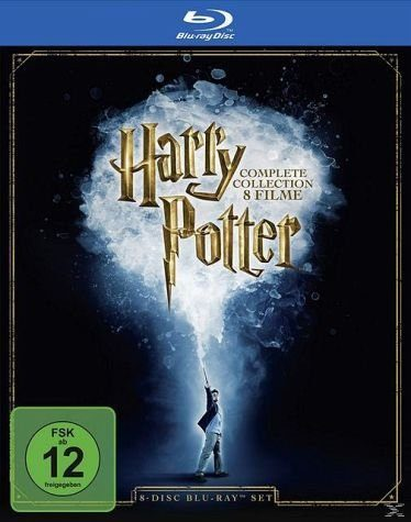 Blu-ray »Harry Potter - The Complete Collection Bluray Box«