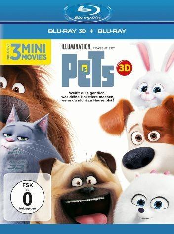 Blu-ray »Pets (Blu-ray 3D + 2D)«