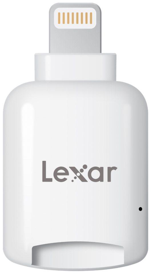 Lexar PC-Komponenten »MicroSD Reader Lightning mobile iOS microSD Card R« in weiß
