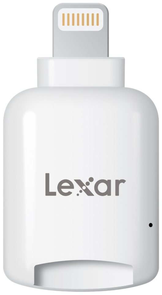 Lexar Speicherkarten »MicroSD Reader Lightning mobile iOS microSD Card R« in weiß