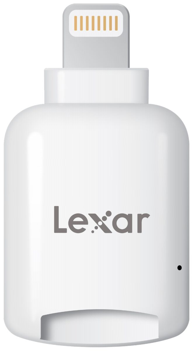 Lexar Speicherkarten »MicroSD Reader Lightning mobile iOS microSD Card R«