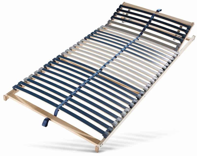 Lattenrost, »Dura Flex LR-K«, BeCo EXCLUSIV, 28 Leisten, Kopfteil manuell verstellbar, Fußteil nicht verstellbar, 7 Zonen, ideal für Doppelbetten