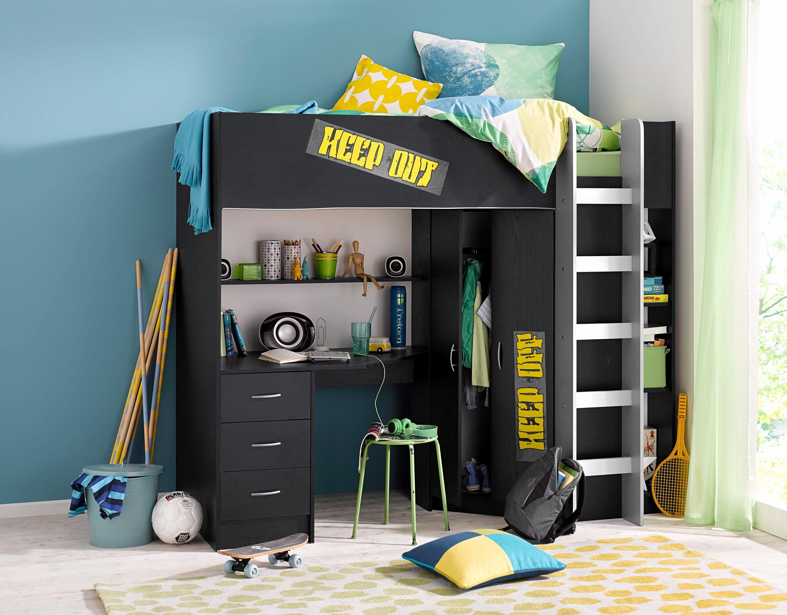 Etagenbett Kinder Mit Schrank : Hochbett online kaufen mit treppe otto