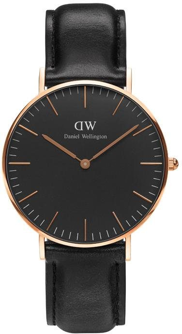 Daniel Wellington Quarzuhr »Classic Black Sheffield, DW00100139«