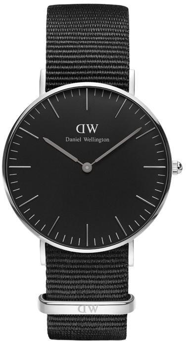 Daniel Wellington Quarzuhr »Classic Black Cornwall, DW00100151« in schwarz