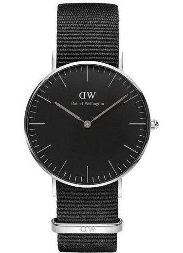 Daniel Wellington Quarzuhr »Classic Black Cornwall, DW00100151«